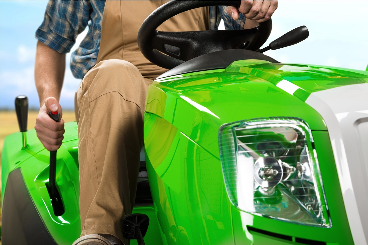 Lawn Mower, Tractor, Gardening.