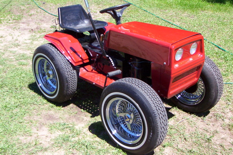 Tuning lawn mower