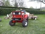 Tracteur tondeuse nogamatic 11