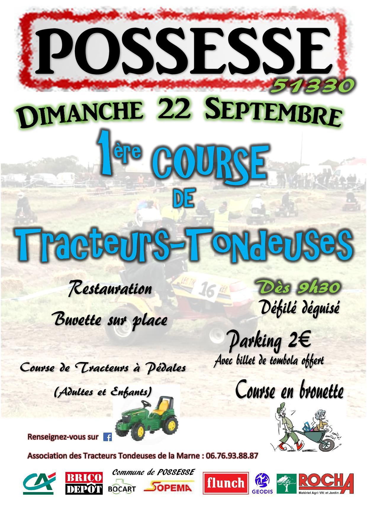 Affiche possesse 22 septembre